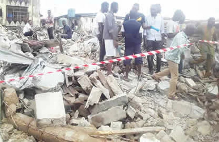 TWO-STOREY BUILDING COLLAPSED IN JOS Home - Crimefighters